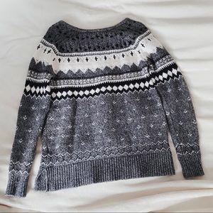 AE | Grey Knit Winter Sweater